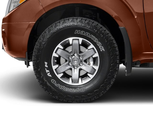 2017 Nissan Frontier Prices and Values Crew Cab PRO-4X 4WD wheel
