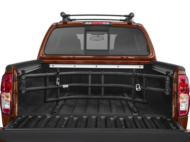 2017 Nissan Frontier Prices and Values Crew Cab PRO-4X 4WD open trunk