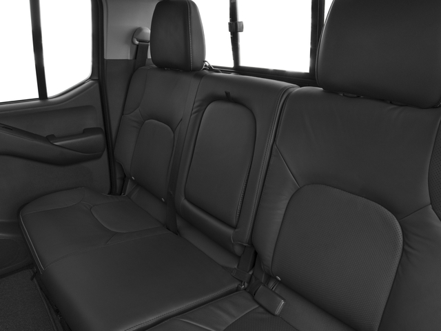 2017 Nissan Frontier Prices and Values Crew Cab PRO-4X 4WD backseat interior