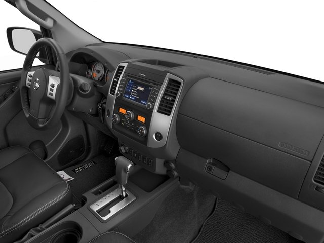 2017 Nissan Frontier Prices and Values Crew Cab PRO-4X 4WD passenger's dashboard