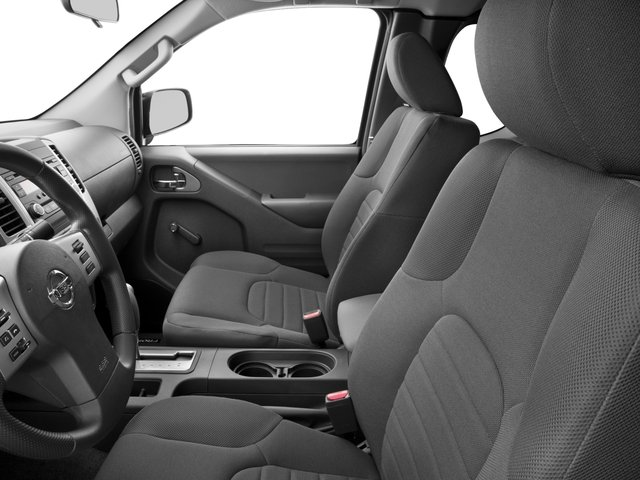 2017 Nissan Frontier Prices and Values King Cab S 2WD front seat interior