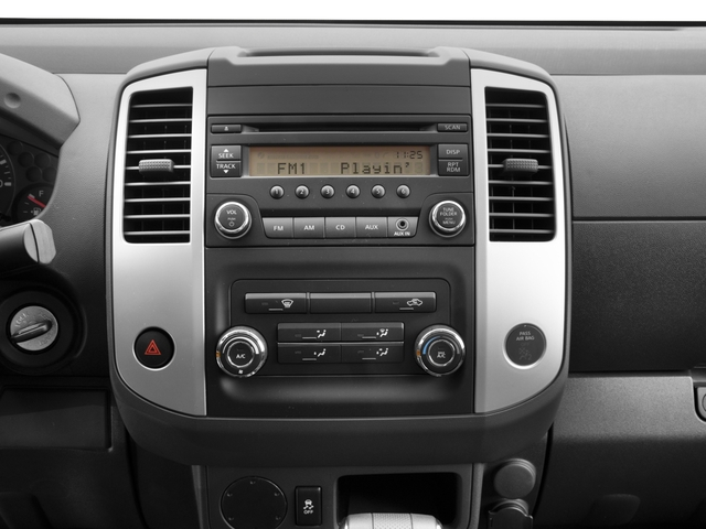 2017 Nissan Frontier Prices and Values King Cab S 2WD stereo system