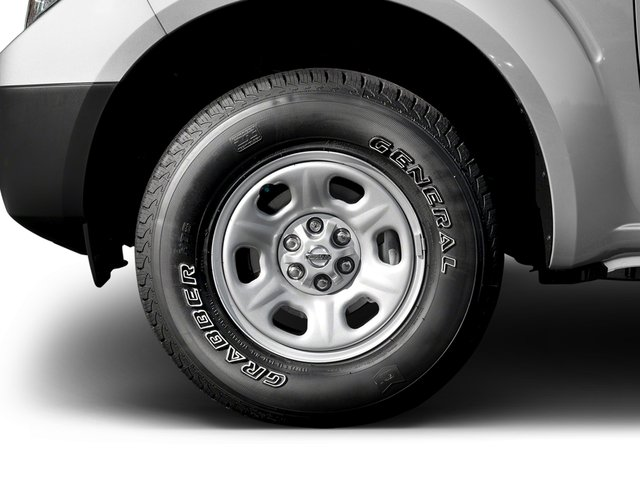 2017 Nissan Frontier Pictures Frontier King Cab S 2WD photos wheel