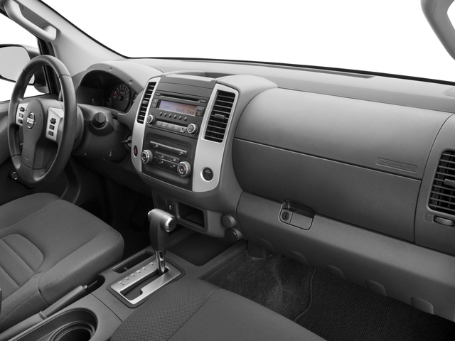 2017 Nissan Frontier Prices and Values King Cab S 2WD passenger's dashboard