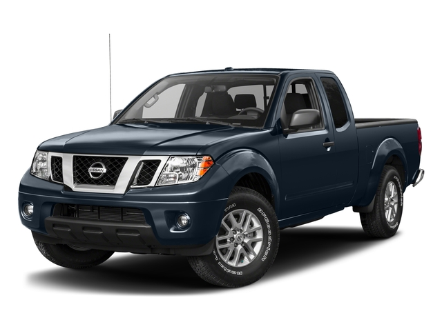2017 Nissan Frontier Prices and Values King Cab SV 2WD side front view