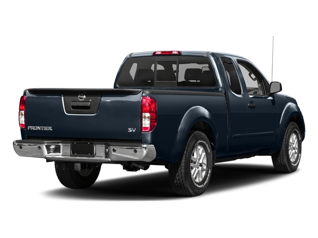 2017 Nissan Frontier Prices and Values King Cab SV 2WD side rear view