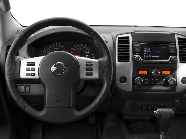 2017 Nissan Frontier Prices and Values King Cab SV 2WD driver's dashboard