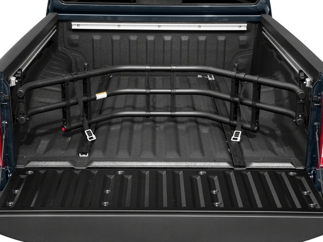2017 Nissan Frontier Prices and Values King Cab SV 2WD open trunk