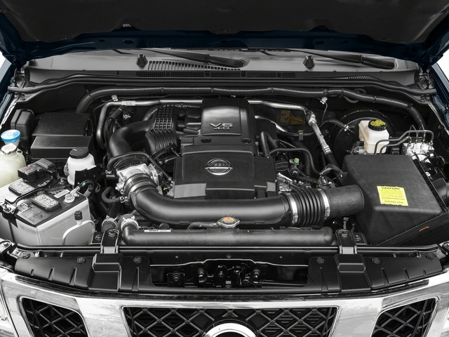2017 Nissan Frontier Pictures Frontier King Cab SV 2WD photos engine