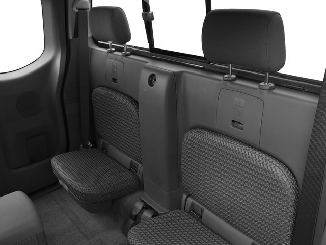 2017 Nissan Frontier Prices and Values King Cab SV 2WD backseat interior