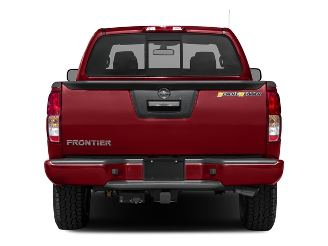 2017 Nissan Frontier Base Price King Cab 4x2 Desert Runner Auto Pricing rear view