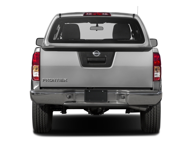 2017 Nissan Frontier Base Price 2017.5 Crew Cab 4x4 S Auto Pricing rear view