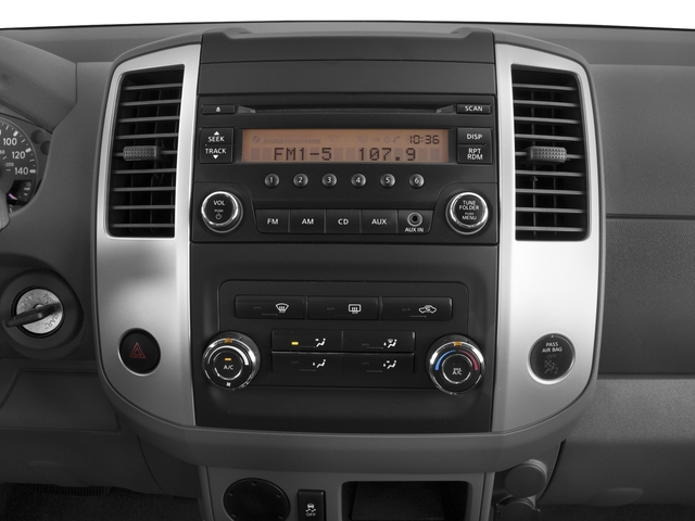 2017 Nissan Frontier Base Price 2017.5 Crew Cab 4x4 S Auto Pricing stereo system