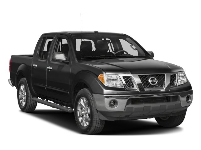2017 Nissan Frontier Prices and Values Crew Cab SL 2WD side front view