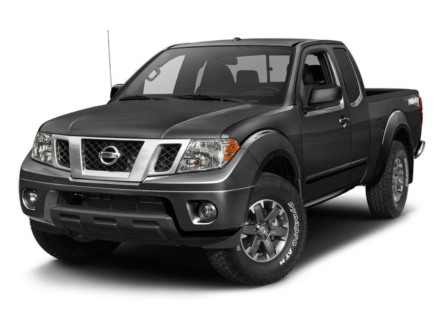 2017 Nissan Frontier Pictures Frontier King Cab 4x4 PRO-4X Auto photos side front view