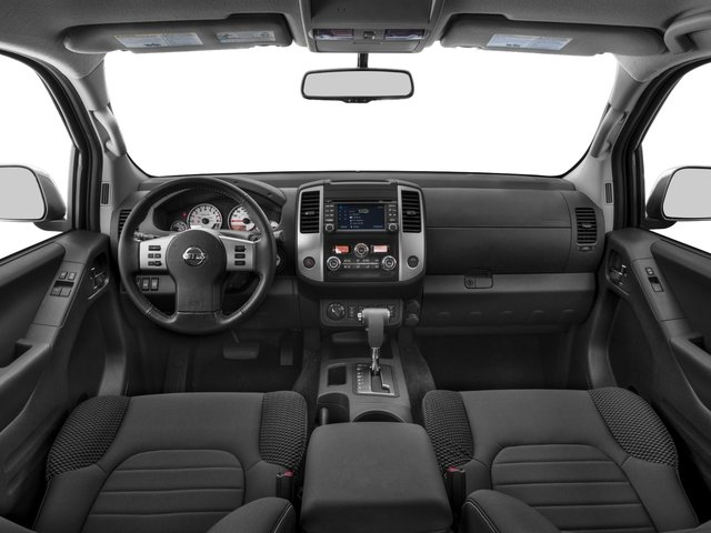 2017 Nissan Frontier Pictures Frontier King Cab 4x4 PRO-4X Auto photos full dashboard