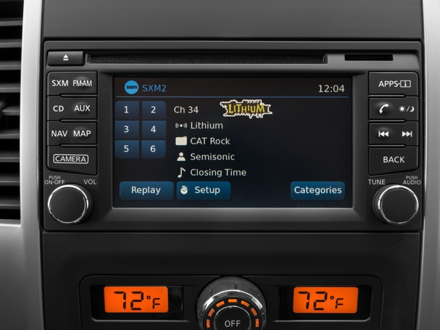 2017 Nissan Frontier Pictures Frontier King Cab 4x4 PRO-4X Auto photos stereo system