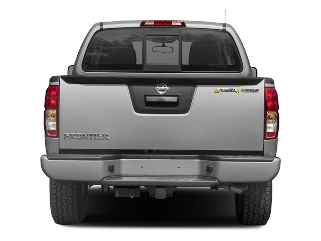 2017 Nissan Frontier Base Price Crew Cab 4x2 Desert Runner Auto Pricing rear view