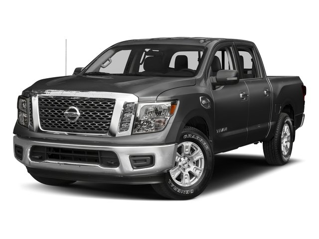 2017 Nissan Titan Prices and Values Crew Cab SV 2WD