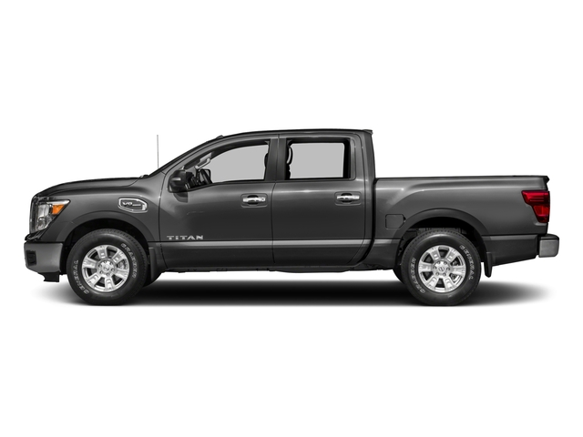 2017 Nissan Titan Prices and Values Crew Cab SV 2WD side view