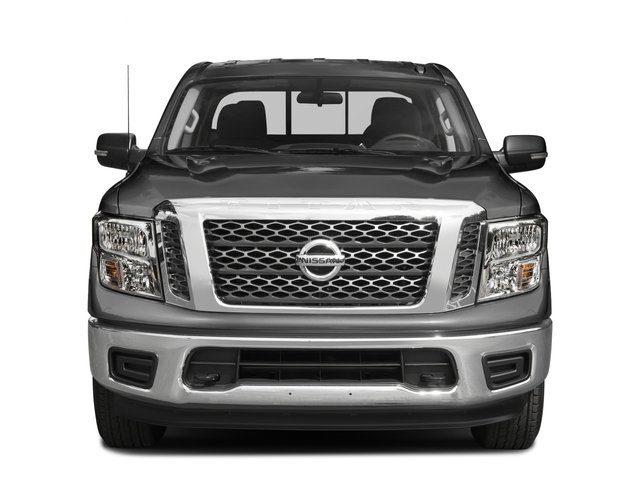 2017 Nissan Titan Prices and Values Crew Cab SV 2WD front view
