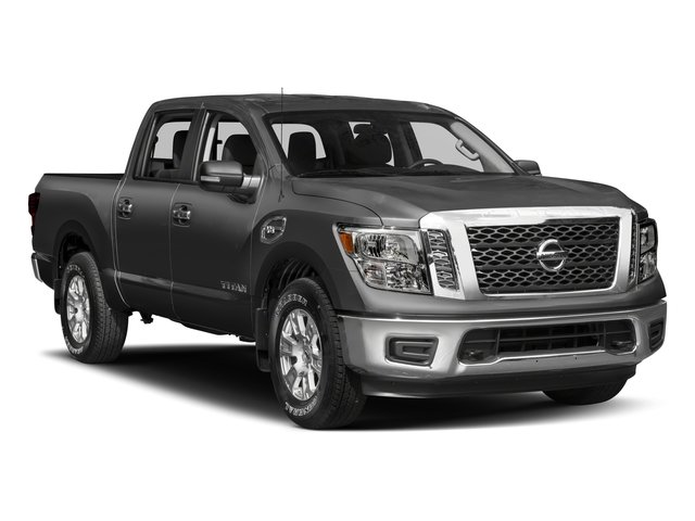 2017 Nissan Titan Prices and Values Crew Cab SV 2WD side front view