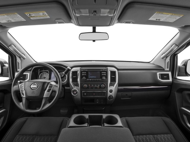 2017 Nissan Titan Prices and Values Crew Cab SV 2WD full dashboard