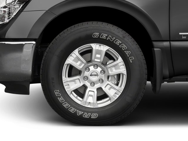 2017 Nissan Titan Prices and Values Crew Cab SV 2WD wheel