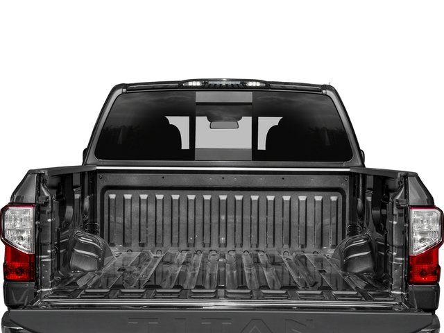 2017 Nissan Titan Prices and Values Crew Cab SV 2WD open trunk