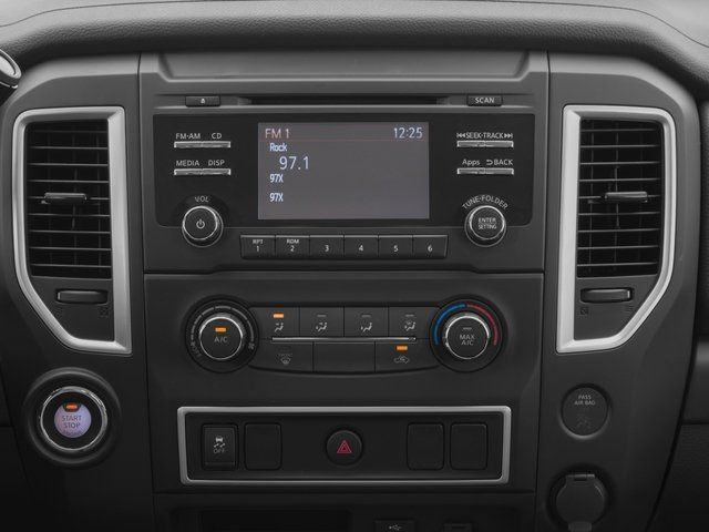 2017 Nissan Titan Pictures Titan Regular Cab S 2WD photos stereo system