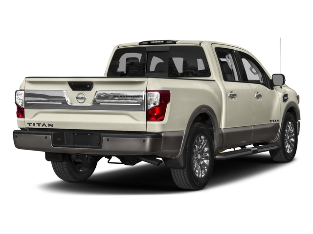 2017 Nissan Titan Prices and Values Crew Cab Platinum Reserve 2WD side rear view