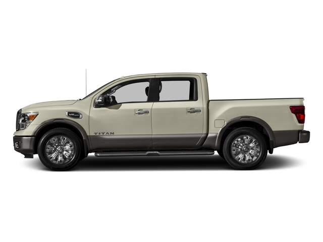 2017 Nissan Titan Prices and Values Crew Cab Platinum Reserve 2WD side view
