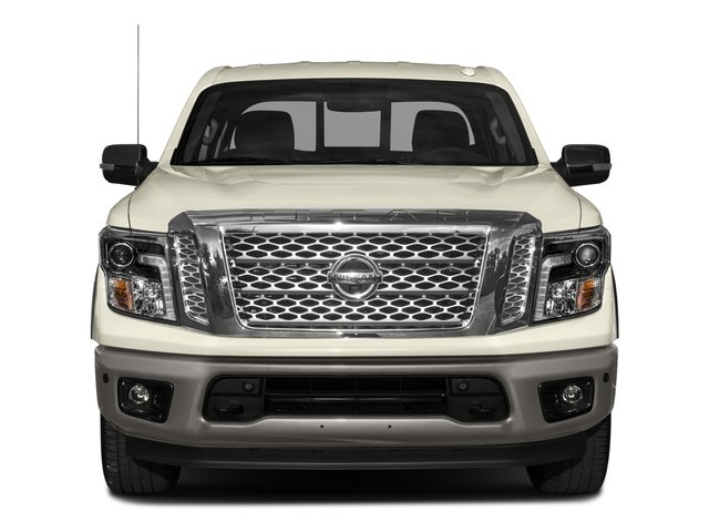 2017 Nissan Titan Prices and Values Crew Cab Platinum Reserve 2WD front view