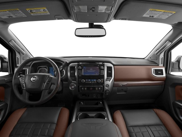 2017 Nissan Titan Prices and Values Crew Cab Platinum Reserve 2WD full dashboard