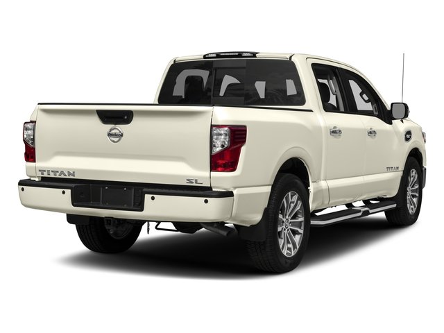 2017 Nissan Titan Prices and Values Crew Cab SL 4WD side rear view