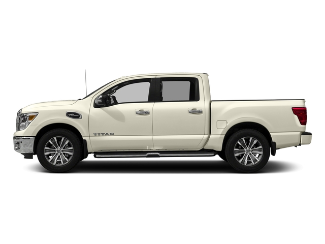 2017 Nissan Titan Prices and Values Crew Cab SL 4WD side view