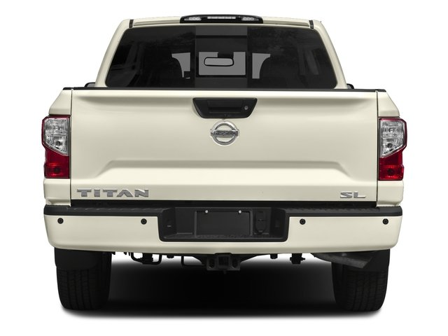2017 Nissan Titan Prices and Values Crew Cab SL 4WD rear view