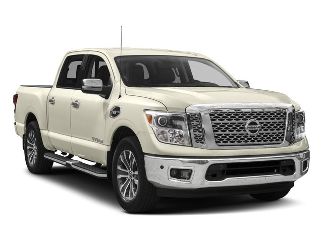 2017 Nissan Titan Prices and Values Crew Cab SL 4WD side front view