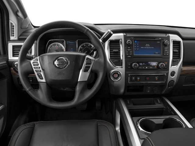 2017 Nissan Titan Prices and Values Crew Cab SL 4WD driver's dashboard