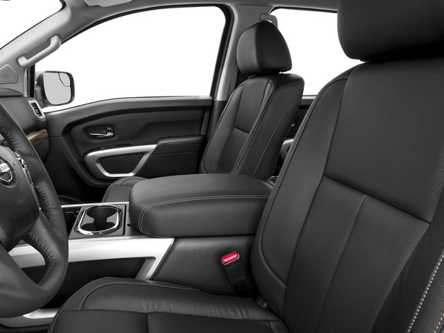 2017 Nissan Titan Prices and Values Crew Cab SL 4WD front seat interior