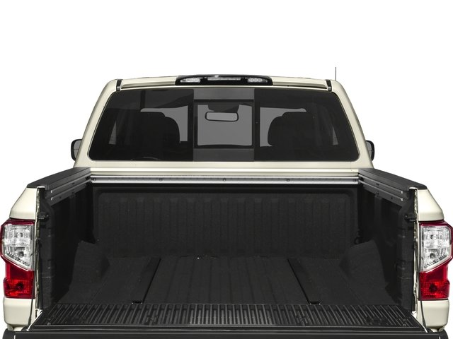 2017 Nissan Titan Prices and Values Crew Cab SL 4WD open trunk