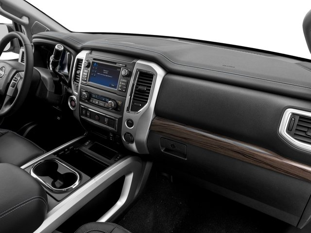 2017 Nissan Titan Prices and Values Crew Cab SL 4WD passenger's dashboard