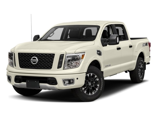 2017 Nissan Titan Prices and Values Crew Cab PRO-4X 4WD