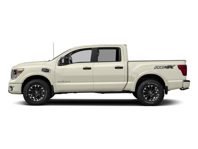 2017 Nissan Titan Prices and Values Crew Cab PRO-4X 4WD side view