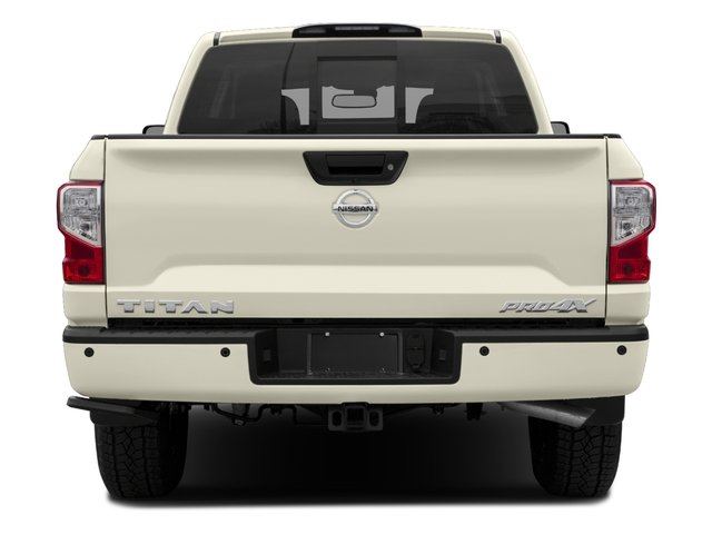 2017 Nissan Titan Prices and Values Crew Cab PRO-4X 4WD rear view