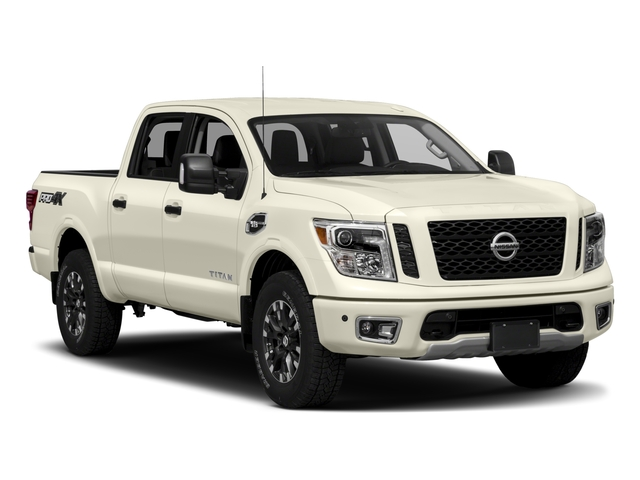 2017 Nissan Titan Prices and Values Crew Cab PRO-4X 4WD side front view