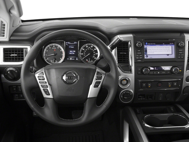 2017 Nissan Titan Prices and Values Crew Cab PRO-4X 4WD driver's dashboard