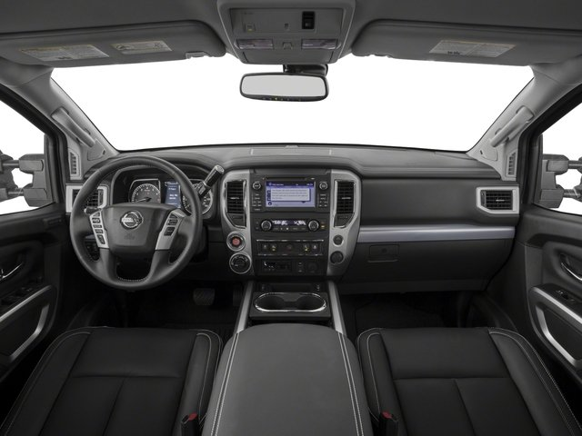 2017 Nissan Titan Prices and Values Crew Cab PRO-4X 4WD full dashboard