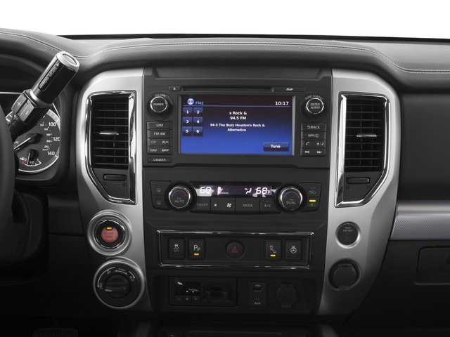 2017 Nissan Titan Prices and Values Crew Cab PRO-4X 4WD stereo system