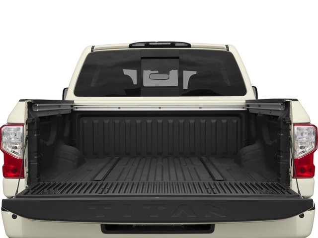 2017 Nissan Titan Prices and Values Crew Cab PRO-4X 4WD open trunk